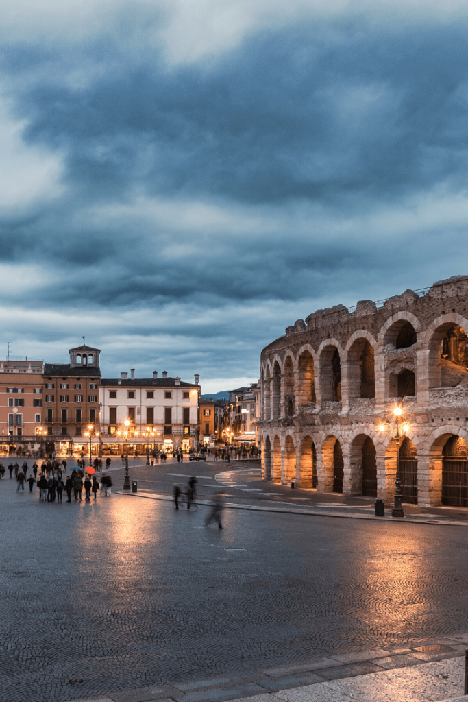 What to do in Verona with kids: the Arena in Verona is a must-see if you are in the area; what to do in the north of Italy with kids;