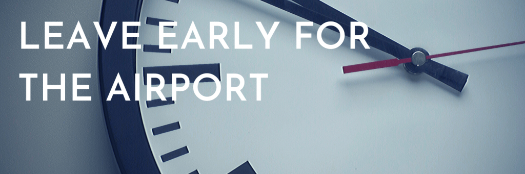 Our second tip when travelling for the holidays: Leave early for the airport. The few days either side of major holidays are the business days of the year for airports and airlines. There can be traffic getting to the airport, parking shortages, and queues for security, check-in, etc. Allow extra time for all eventualities. Picture of a clock; Canva stockphoto