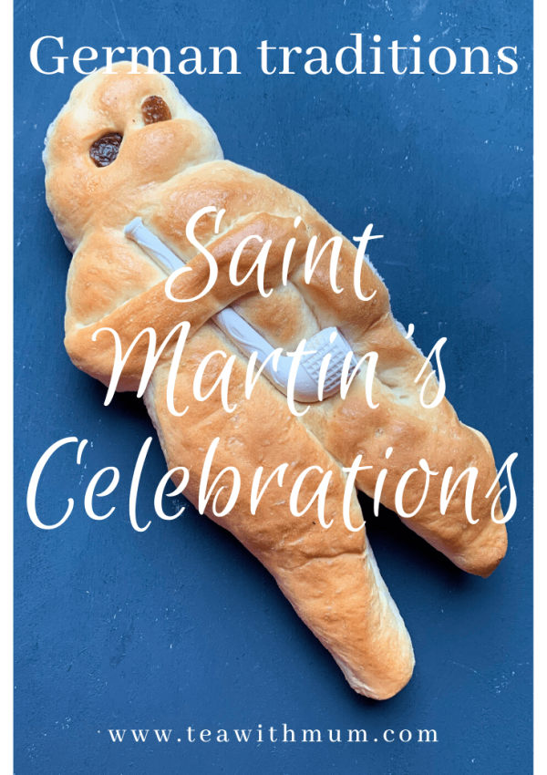 St Martin's celebration; German traditions; 11 November; No Halloween; Lanterns and a procession, bonfire, goose, Weckmann