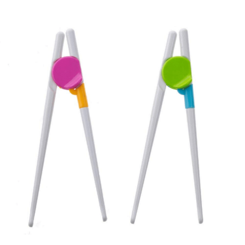 These chopsticks trainers are simple and fun and can be used by both left and right handed kids; perfect for those wanting to learn how to use chopsticks before going on a great adventure to somewhere in Asia or just the Chinese restaurant in town; Perfect gifts for little travellers