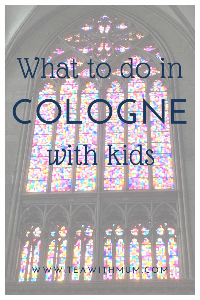 Tips from a local: What to do in Cologne with kids; What to do in Cologne when it rains; image of a stained-glass window in the Cologne Cathedral (Kölner Dom)