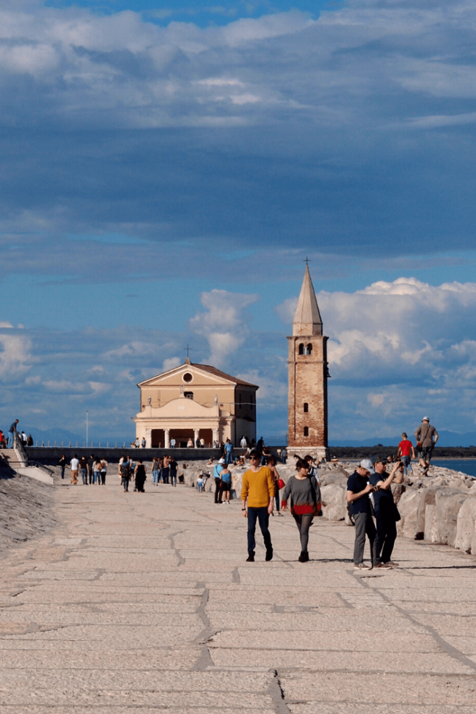 The Shrine of Our Lady of the Angel (originally dedicated to Archangel Michael from whom it takes its name) with its enchanting locations: one of the top sights to see in Caorle
