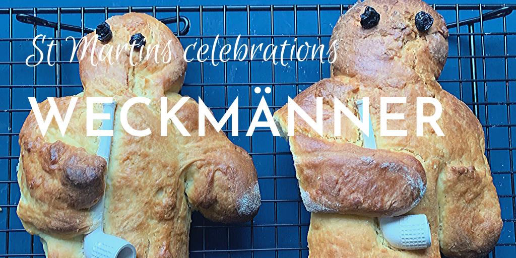 Weckmann recipe; St Martins traditions; Stutenkerl recipe - banner