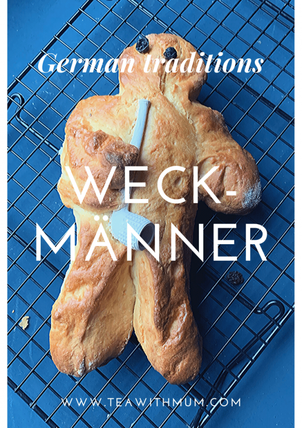 How to make traditional Weckmänner