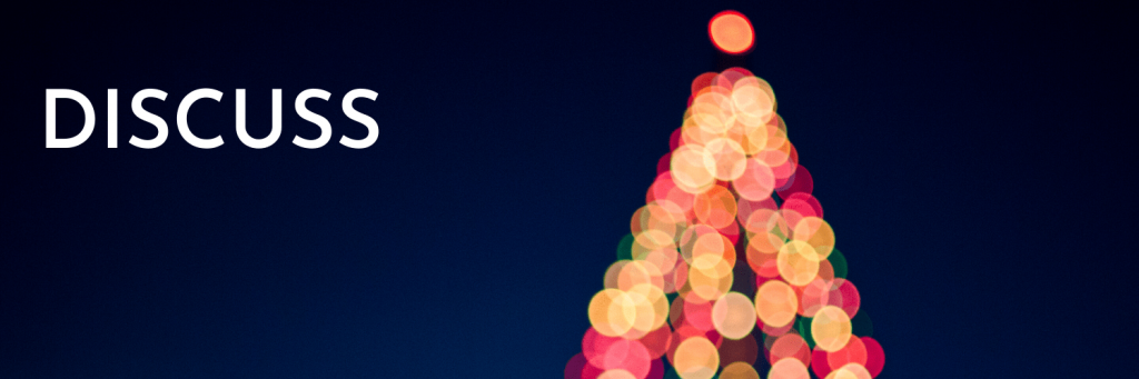 Combining Christmas cultures: Tip 1 - discuss your cultures and the parts you like and don't like