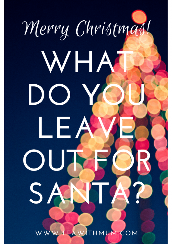 "We combined Christmases, but forgot to answer the question, ""What do you leave out for Santa?"" And it is different, when you are in Australia. Don't forget to work out this detail in advance and have a very Merry Christmas"