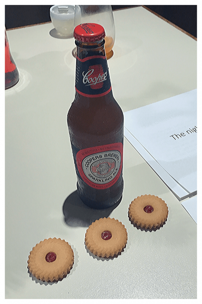 Answering the age-old question: What do Australian's leave out for Father Christmas. Beer and biscuits. At least when Santa is thirsty.