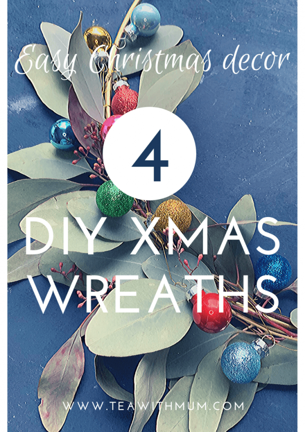 4 simple Christmas wreaths to make this Christmas