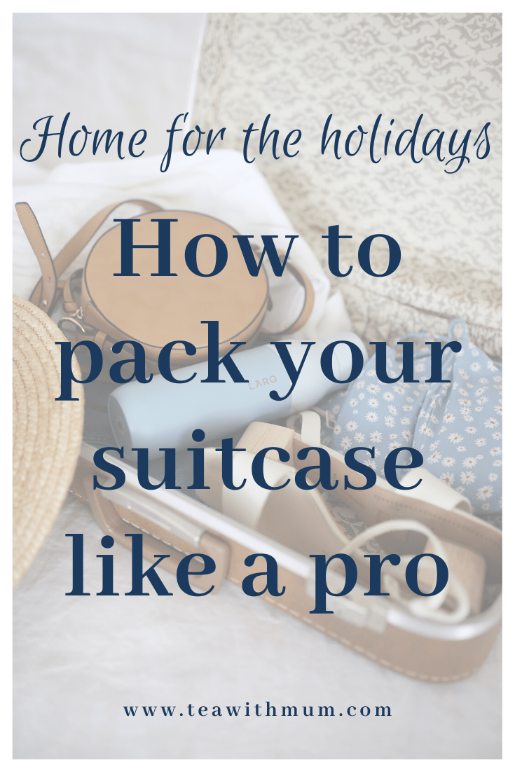 Are you travelling for the holidays? Check out these tips on how to pack your suitcase like a pro! Deal with shoes, toiletries and breakables with ease.