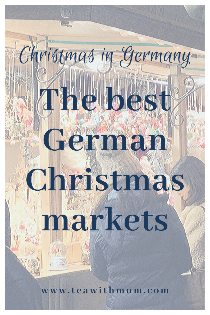Christmas in Germany is difficult to imagine without Christmas markets. Christmas markets have been held in Germany for around 700 years