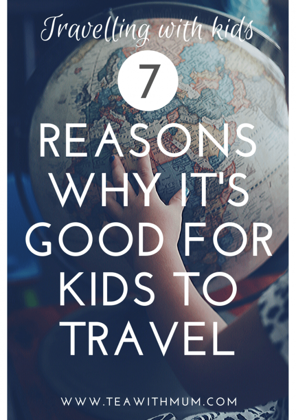Travel is extremely beneficial for kids. Here are just 7 (or many) reasons why it's good for kids to travel. Photo:Amy Humphries via unsplash