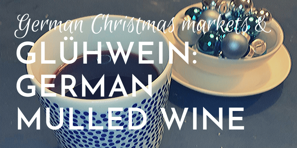 Glühwein with tea: German hot mulled wine, with black tea, Tea with Mum style.