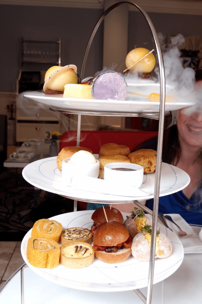 Science Afternoon Tea at the Ampersand Hotel.