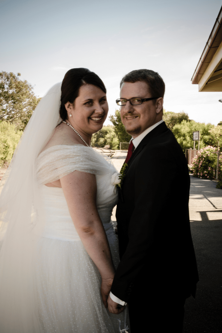 The decade that was: 2013 - our travel-themed wedding on the beach, with photos at the nearby historic train station