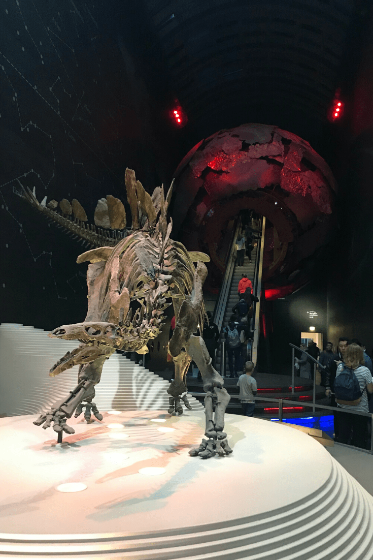 We spent the first part of the third day of our three days in London with a small child at the Natural History Museum. See our separate post for more details.