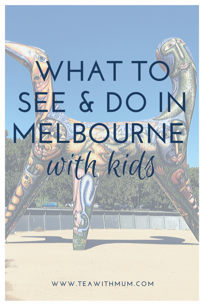 13 fun things to do & see in Melbourne with kids; ultimate itinerary for Melbourne with kids; top things to do in Melbourne with your child, whatever the age; tried and tested tips and suggestions; image of Angel by Deborah Halpern