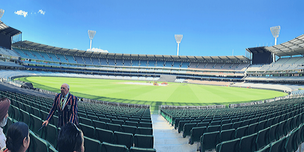 Number 9 of 13 fun things to do and see in Melbourne with kids: Visit the MCG - A great treat for any lover of sport. School-aged kids should particularly love the Australian Sports Museum.