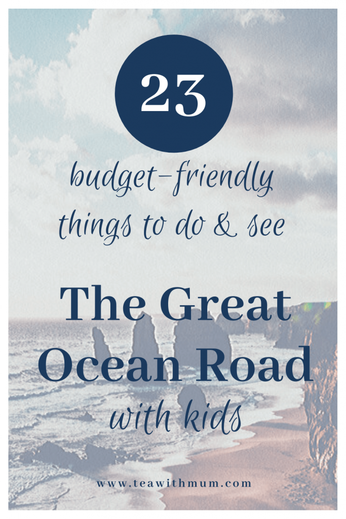 23 budget-friendly things to do and see on the Great Ocean Road with kids (and three for a budget blow-out)