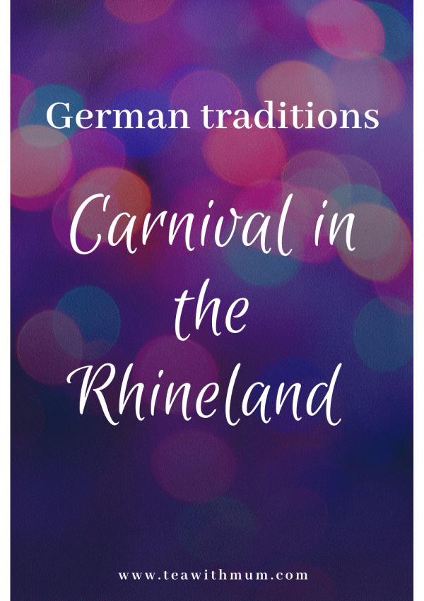 German traditions: Carnival in the Rhineland. What is it? What are its origins? How is it celebrated? How does it differ to Fastnacht? What costumes are we wearing?