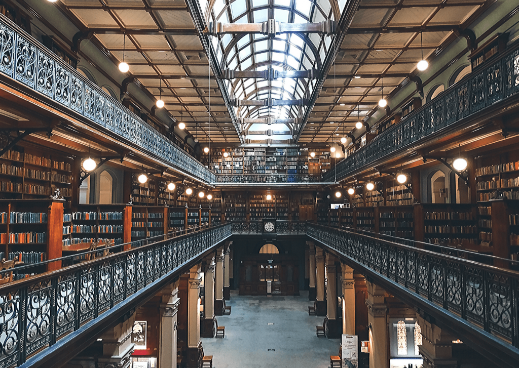 Bibliofiles: check out the Mortlock Library! Image: Vlad Kutepov on unsplash