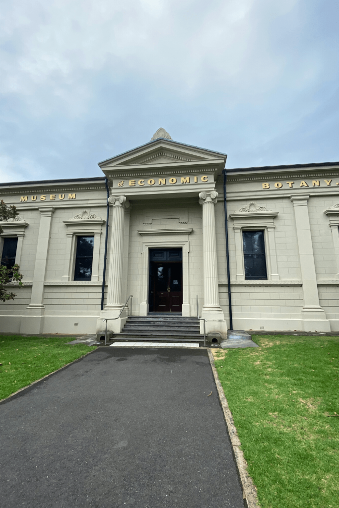 Adelaide with kids: The Museum of Economic Botany (outside)