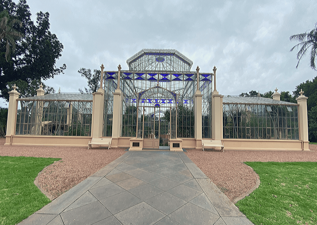 Adelaide with kids: the century-old Palm House at the Botanic Gardens