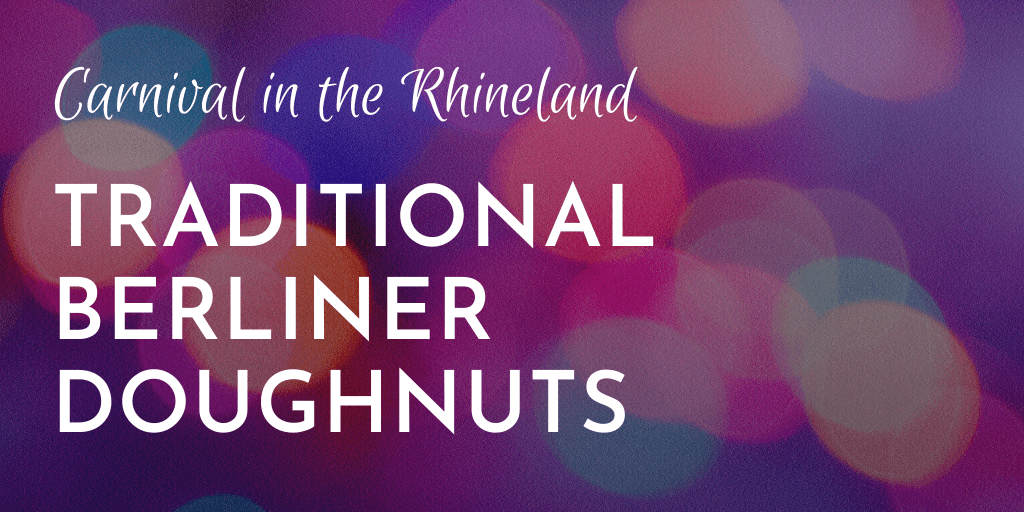Berliner doughnuts are treat traditionally eaten during Carnival. Follow this simple recipe and you are guaranteed success; banner
