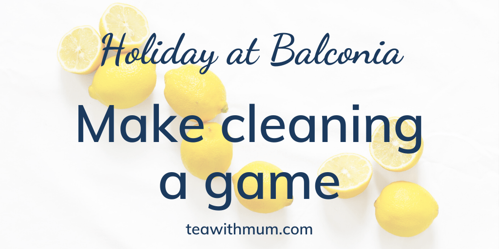 Holiday at Balconia: Make cleaning a game: Image of some lemons
