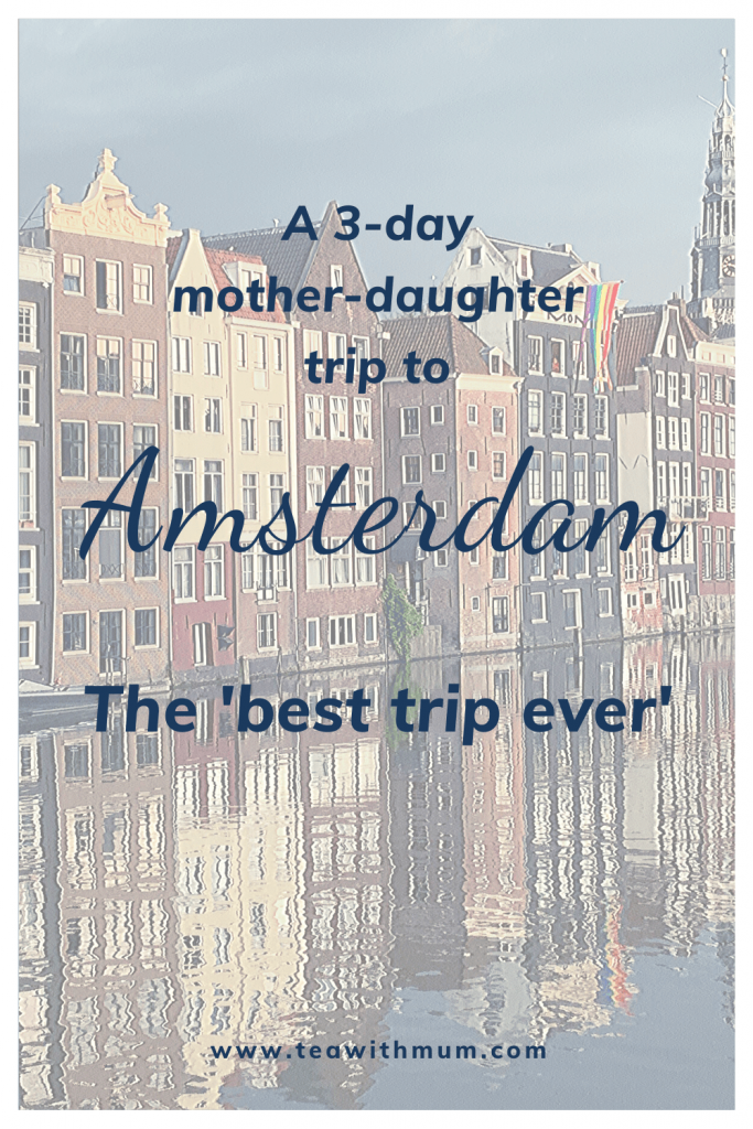 A 3-day mother-daughter trip to Amsterdam: The best trip ever: Where to go and what to see and eat. Image of houses on Damrak.