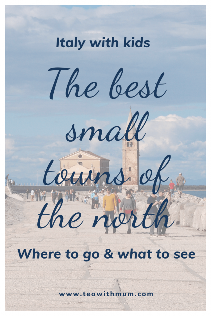 Italy with kids: The best small towns of the north: Where to go and what to see: Image Caorle, by the Adriatic