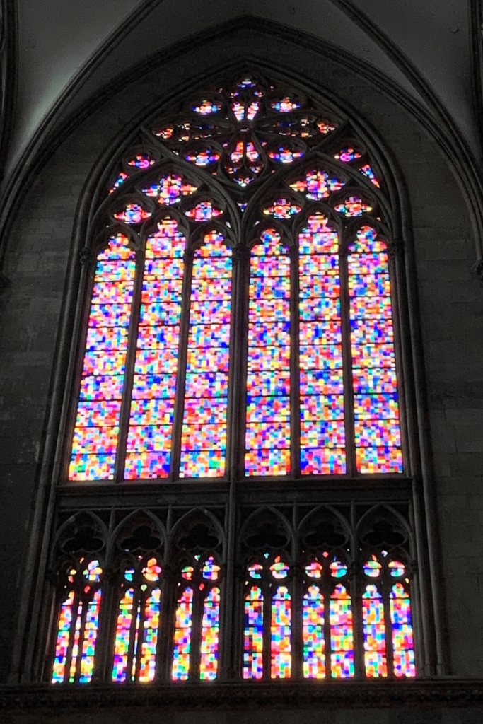 My favourite stained glass window at the Cologne Cathedral