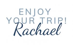 Enjoy your trip sign-off