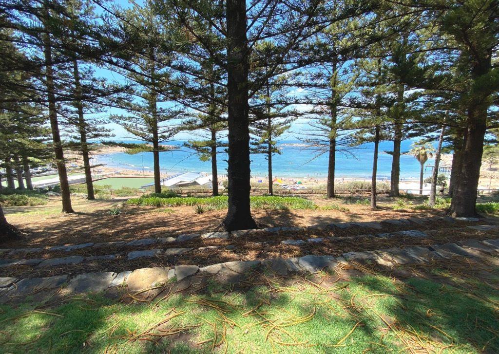Horseshoe Bay from the Soldiers Memorial Garden, Port Elliot, Fleurieu Peninsula