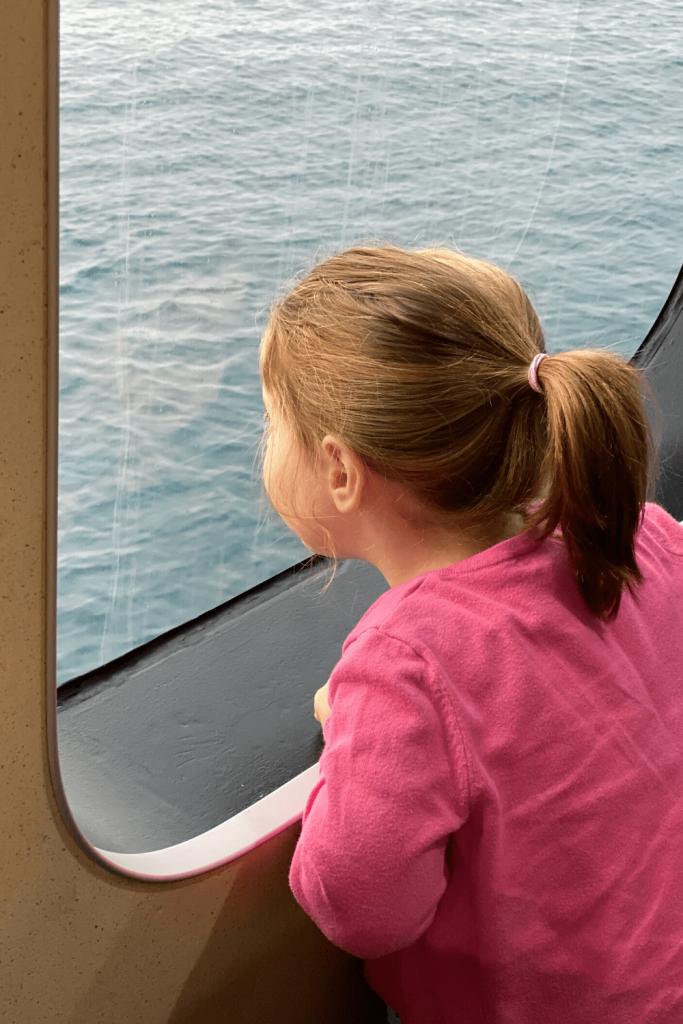 Taking the Sealink ferry to Kangaroo Island, Fleurieu Peninsula