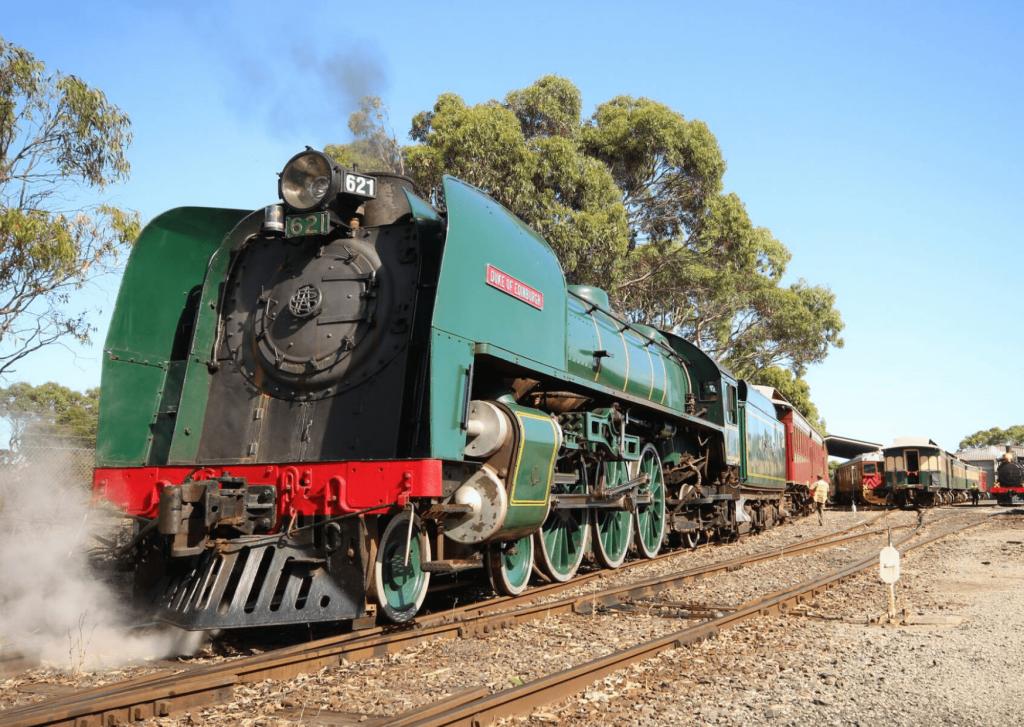 Steam engine, Steamranger trains, image: steam ranger.com.au