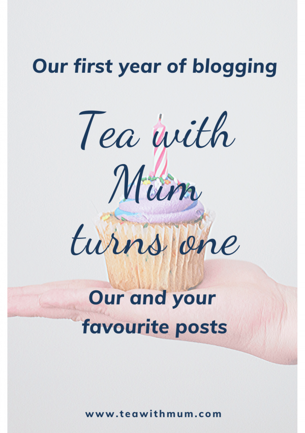 Our first blogiversary: Tea with Mum turns one!