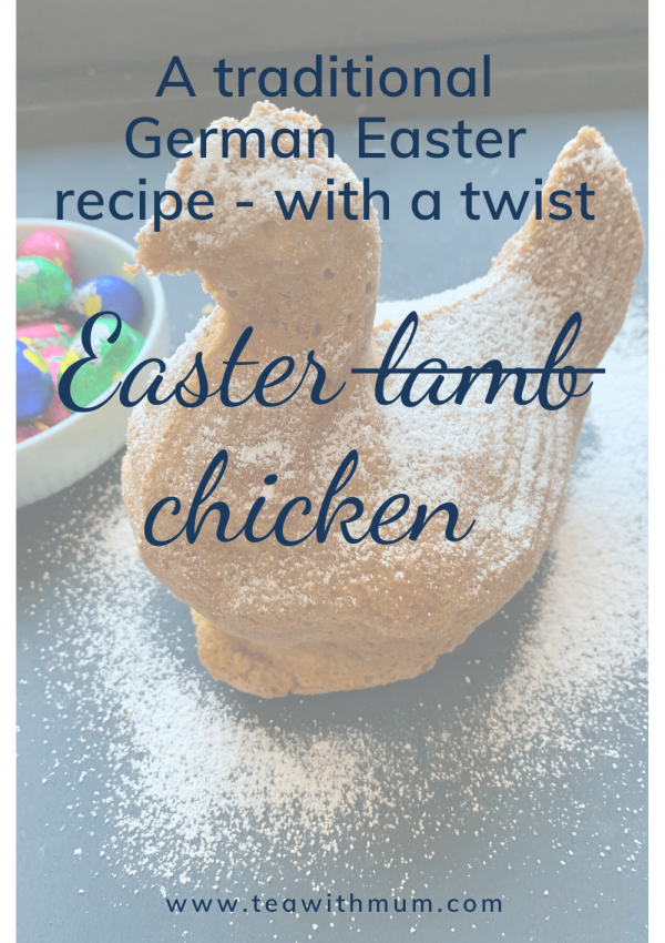 The Easter Chicken: a slightly twisted traditional German Easter recipe