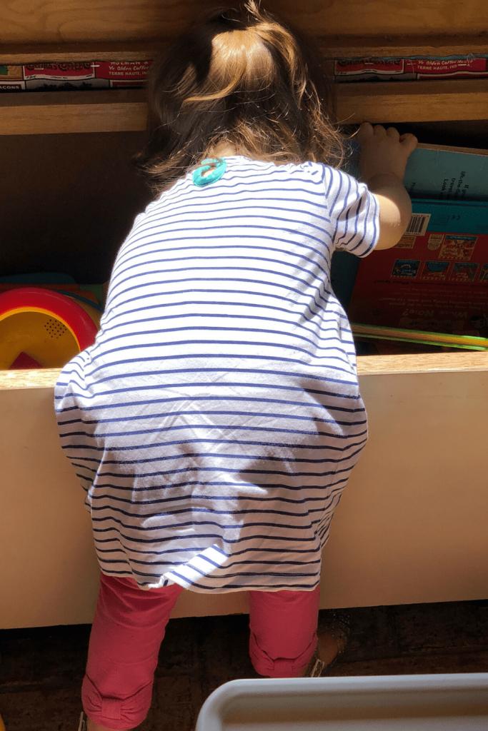Searching in the toy box, The Winehouse, Langhorne Creek, Fleurieu Peninsula