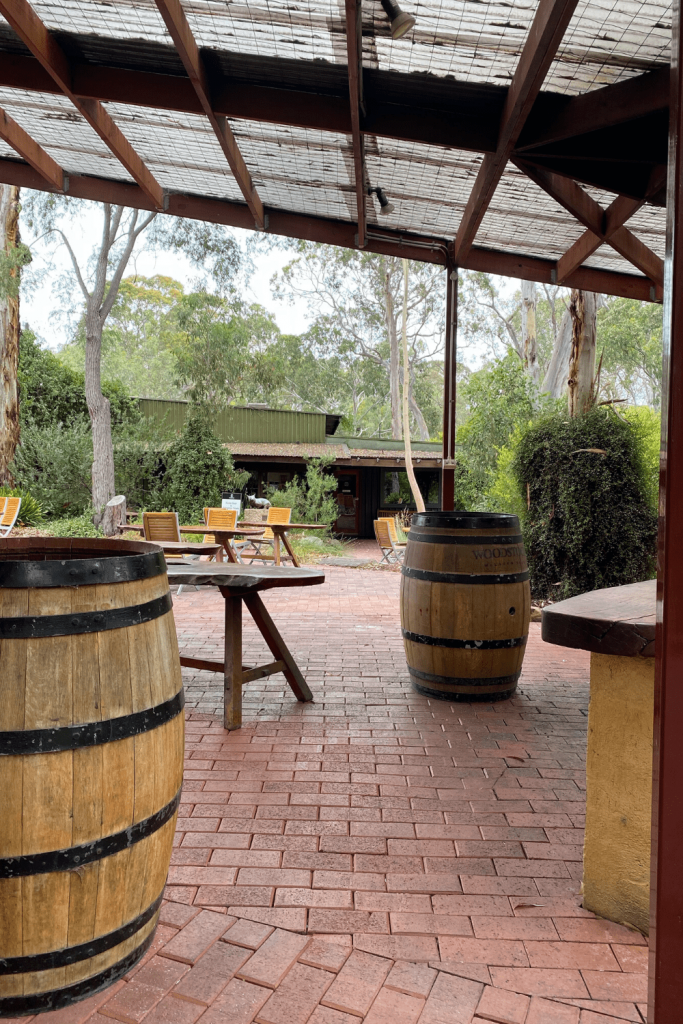 Woodstock Winery in the McLaren Vale, Fleurieu Peninsula
