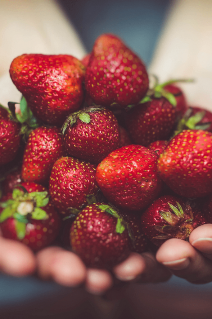 Fresh strawberries from the market. Image: Canva
