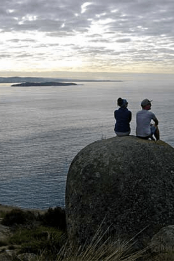 View from the top of the Bluff (Rosetta Head), Victor Harbour, Fleurieu Peninsula. Image: Walking SA