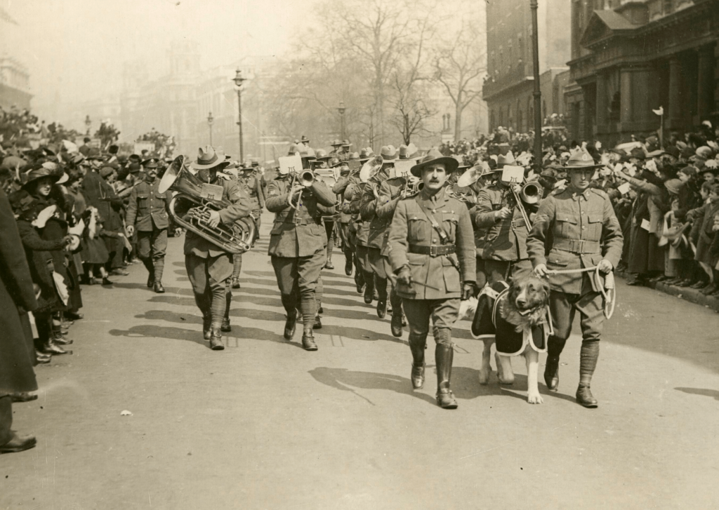 New Zealand Servicement, Anzac Day Parade, London 1916; Photo by Museums Victoria on Unsplash