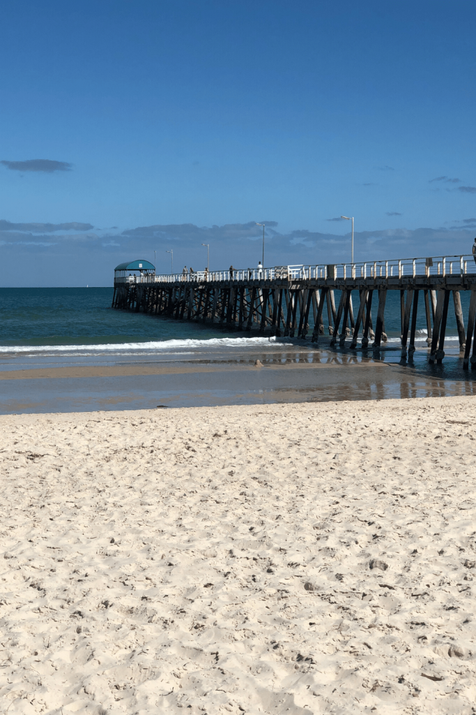 One of the best Adelaide beaches: Henley Beach and jetty