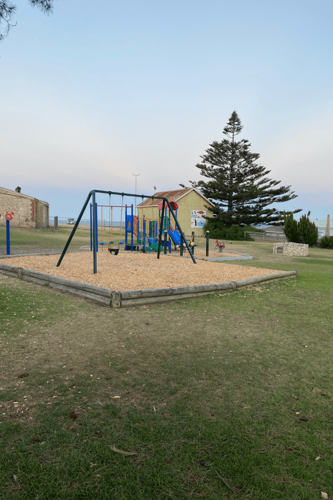 Playground on the foreshore, Kingscote, Kangaroo Island