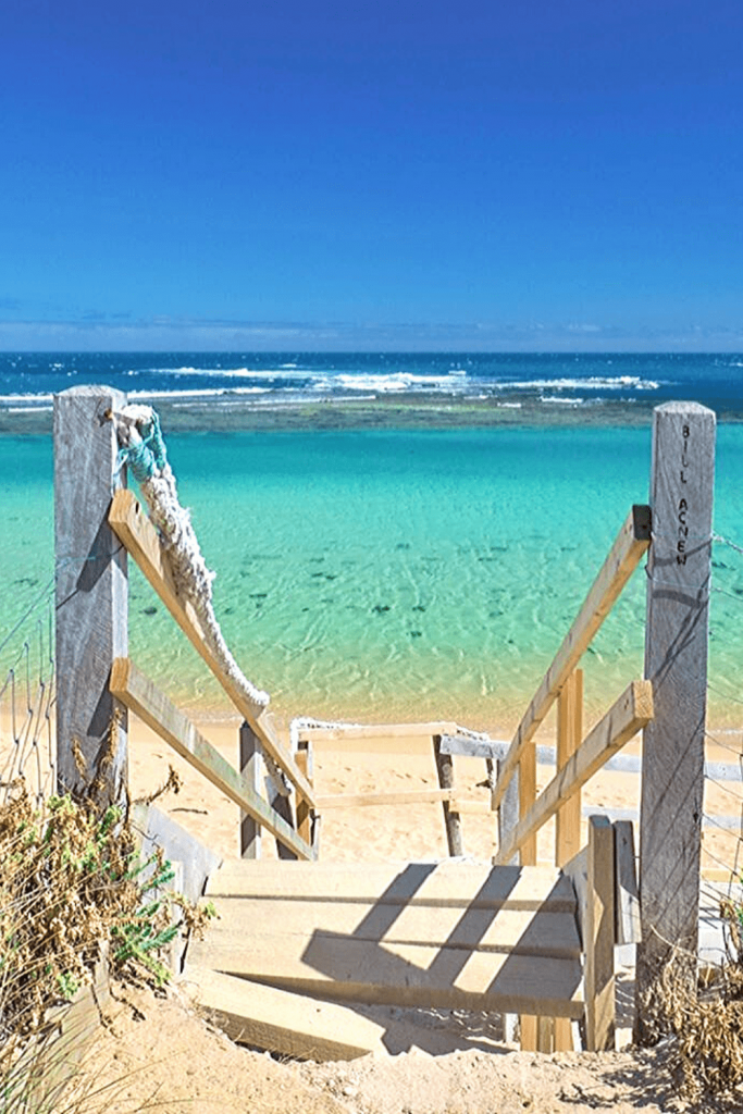 Salmon Hole, Beachport, Limestone Coast, one of the best Adelaide beaches: Image @_Markfitz on Twitter