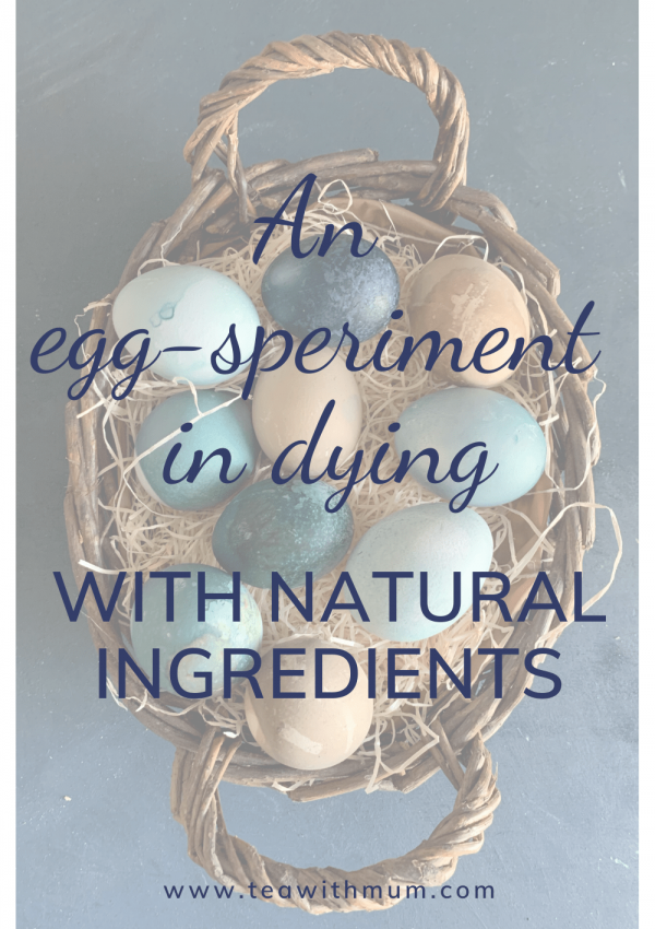 An egg-speriment in dying: how to dye Easter eggs with natural ingredients, and how not to