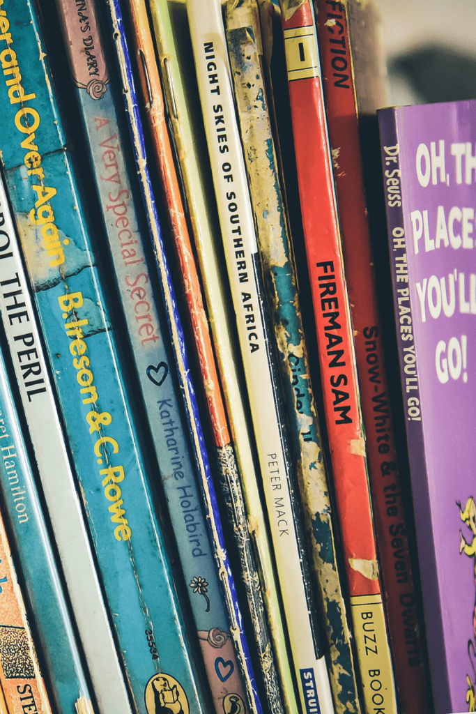 Books and more books.