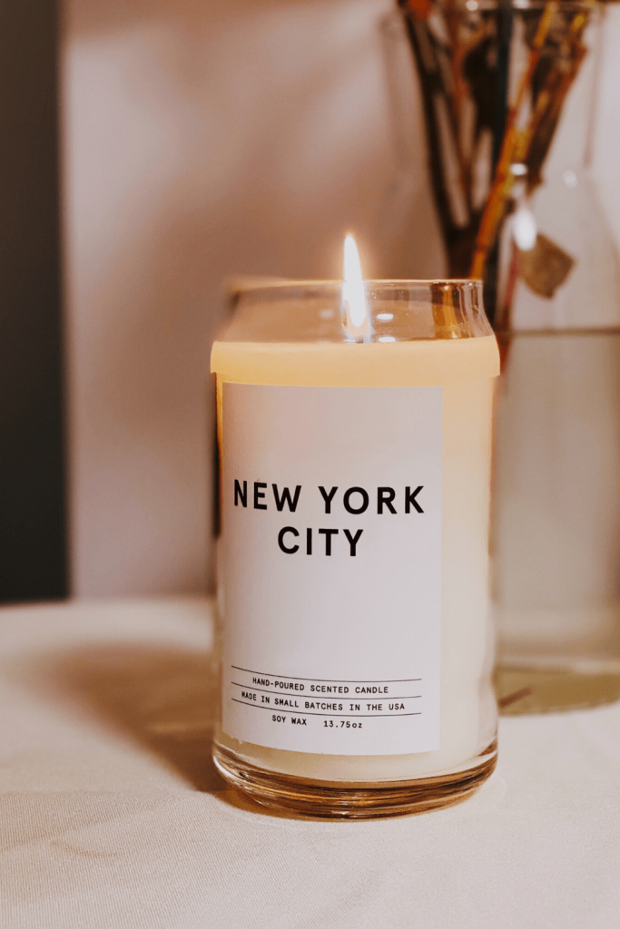 New York scented candle? Photo: Jon Tyson on Unsplash