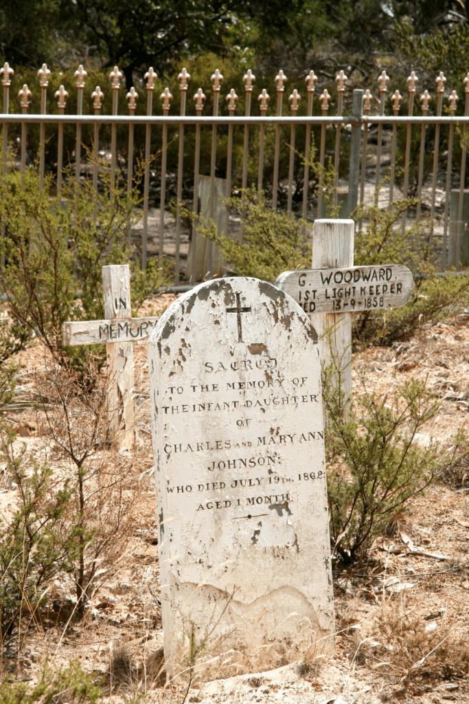 Cape Borda cemetery, Flinders Chase National Park, Kangaroo Island