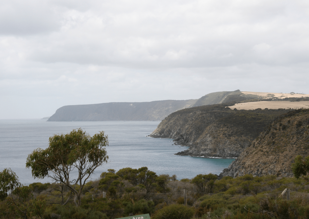Kangaroo Island coastline at Cape Borda, Flinders Chase National Park